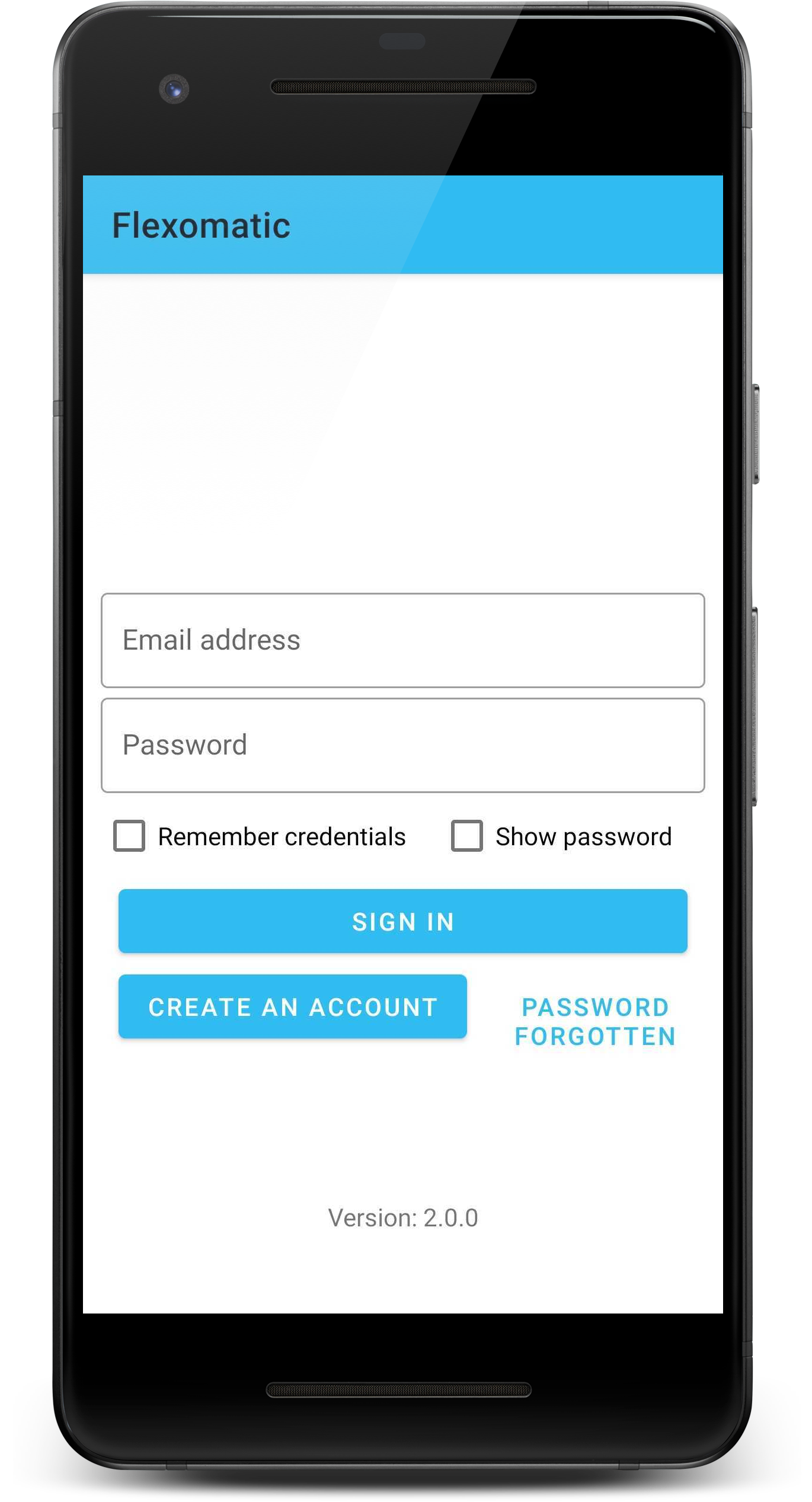 flexomatic login create acount